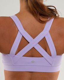 THIS IS MINE!!!!! Yay I now own something I posted on pinterest! haha My new sports cross my heart sports bra by lululemon! I am in love. I got it in blue. :]