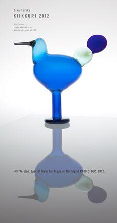 Birds by Toikka Kiikkuri iittala Wine Glass, Glass Art, Glass Birds, Scandinavian Design, Finland, Perfume Bottles, Graphic Design, Fine Art, Crafts