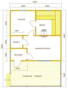 Планировка бани с террасой Indoor Sauna, Enjoy Your Life, Landscape Design, Tiny House, House Plans, Sweet Home, Floor Plans, How To Plan, Building