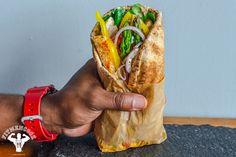 Epic Sriracha Chicken & Veggie Gyro | Fit Men Cook