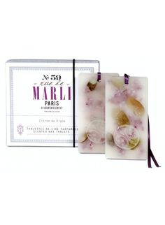 Our most popular Mother's Day gifts this year are apothecary favorites from Rue de Marli like these clever Scented Wax Tablets