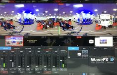 WaveFX a video and webcasting production company can now live vision mixing 360 webcast direct to social media with or without VR glasses This Is Us, Social Media, Live, Social Networks, Social Media Tips