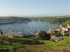 Fowey, with Polruan on the other side of the river. The Other Side, Cornwall, Cottage, River, Traditional, Cottages, Cabin, Rivers, Cabins