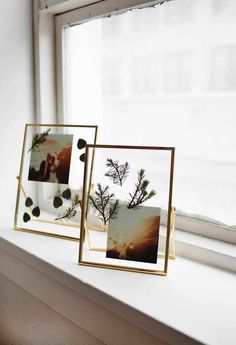 picture frames DIY Pressed Plants Photo Frame - A Beautiful Mess Photo Frame Design, Photo Frame Prop, Photo Frames Diy, Photo Frame Ideas, Photo Frame Decoration, Hanging Picture Frames, Photo Booth, Cadre Photo Diy, Pressed Flowers Frame