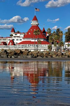 Del Coronado Hotel in San Diego. We spent a week there for a convention. Very beautiful and luxurious!