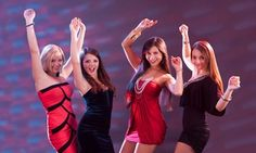 Groupon - One or Two Pole-Dancing Ladies' Night/Day OutLessonEvent at Dance 411 Studios (Up to 62% Off) in Dance 411 Studios. Groupon deal price: $12