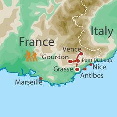 French Riviera Cote DAzur Mediterranean Sea Rome to St Tropez