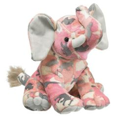 Zoo Camo Elephant (Pink) at theBIGzoo.com, a family-owned toy store.