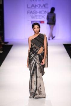 Akaaro by Gaurav Jai Gupta. LFW S/S 13'. Indian Couture.