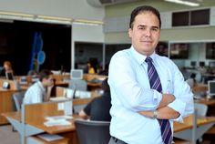 Cláudio Nicolini - Jornalista | Revista Lettering | Foto Danilo C. Monteiro