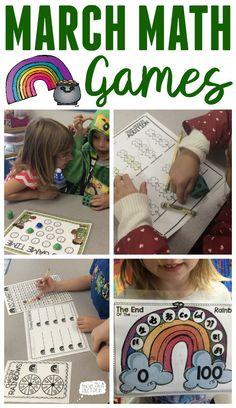 March Math Games