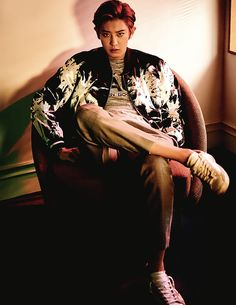 and this world gave me you — lawlliets: Chanyeol for L'Officiel Hommes;...