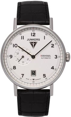 Junkers Watch Eisvogel F13 #2015-2016-sale #bezel-fixed #black-friday-special #bracelet-strap-alligator #brand-junkers #case-depth-11mm #case-material-steel #case-width-40mm #classic #date-yes #delivery-timescale-1-2-weeks #dial-colour-silver #gender-mens #movement-automatic #official-stockist-for-junkers-watches #packaging-junkers-watch-packaging #sale-item-yes #style-dress #subcat-eisvogel-f13 #supplier-model-no-6704-1 #vip-exclusive #warranty-junkers-official-2-year-guarantee…