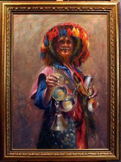 El Aguador 109x082 1er Premio Casa Andalucía