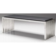 """Mobital Kade Stainless Steel Bench 