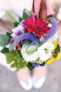 Colorful Spring Bouquet via UrbanStems