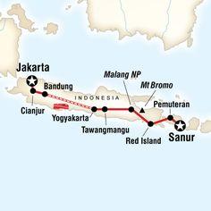 15 Tage Reise Java - Bali Indonesien