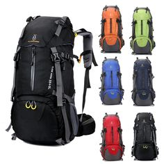 31.95$  Watch now - http://alix7i.shopchina.info/go.php?t=32673583588 - Brand Outdoor Men Women Trekking Hiking bag Backpack Trip Travel Luggage Bag 60L Camping Cycling Riding Backpack 24* 65 * 18 cm 31.95$ #buyininternet