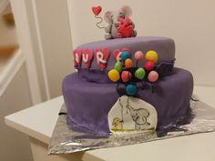 Cute elephant cake by Küstencake