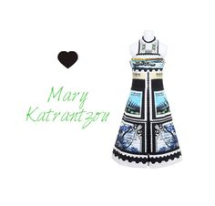 Mary Katrantzou Dress #ss13 #fashionblog Carnet Chic