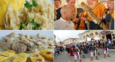 2017 - Festa del Baccalà alla Vicentina-Dried Cod Fish Festival, Sept. 15-25, in Sandrigo, about nine miles north of Vicenza; food booths featuring gnocchi with cod fish, Vicentine cod fish with polenta and many other local specialties open at 7 p.m. and, on Sept. 17 and Sept. 24 also at 11:30 a.m.; gnocchi and bigoli  making demonstrations;  live music and dancing nightly at 9 p.m. in Piazza Garibaldi.