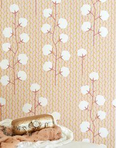 Papier peint Sweet Cotton Vue pièce