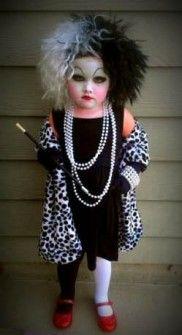 Disfraces infantiles originales - Disfraz de Cruella de Vil