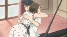 Finale 11: Nodame flighted to hold Chiaki, Chiake cought her