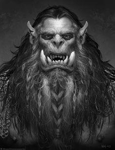The Art of Warcraft Film - DoomHammer, Wei Wang on ArtStation at https://www.artstation.com/artwork/bzwPG