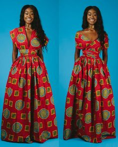 Maxi Infinity in Red by Ofuure