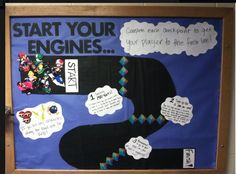Divide your floor into teams and use a bulletin board to measure their progress.  At the beginning of the year, perhaps use this to help make sure all of the paperwork is returned in an orderly fashion.