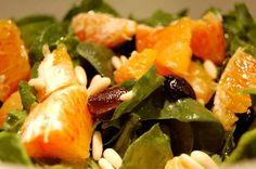 Ensalda de Espinacas y Naranjas                                                                                                                                                                                 Más