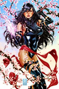The Cherry Blossom Art by: Mark Brooks  As beautiful as a Cherry Blossom but as deadly as an assassin