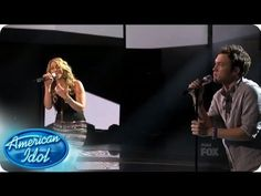 Elise Testone & Phillip Phillips - Somebody That I Used to Know                          Love their voices together