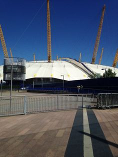 The O2 arena in London England for the 150th anniversary of the Salvation Army