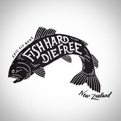 Fish Tattoo. Replace the text with something relevant to your life.