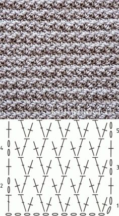Breathtaking Crochet So You Can Comprehend Patterns Ideas. Stupefying Crochet So You Can Comprehend Patterns Ideas. Crochet Stitches Chart, Crochet Motifs, Crochet Diagram, Crochet Basics, Knitting Stitches, Knitting Patterns, Crochet Patterns, Crochet Wool, Crochet Designs
