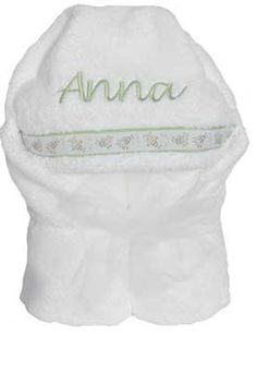 Personalized hooded towel monogrammed bath towel moonbeam baby personalized hooded towels make a perfect gift our hooded towels come in two sizes pick up a small for baby and a large for the big sister or brother negle Choice Image