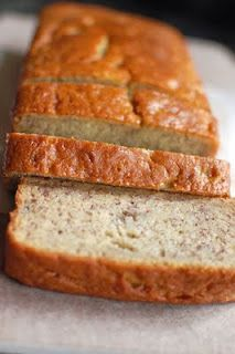 {Super Moist Banana Bread}  This is a great recipe that makes 1 loaf of delicious bread. We loved it! The buttermilk adds a lot of moisture that makes it wonderful.