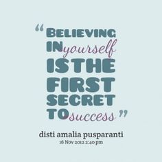 beleive in urself quotes | Believe In Yourself Quotes. QuotesGram