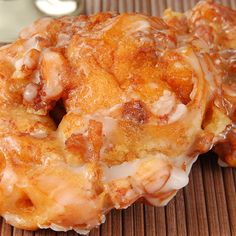 Simple Apple Fritters Recipe 3 | Just A Pinch Recipes
