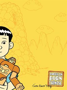 American Born Chinese - e-iNC LibraryA tour-de-force by rising indy comics star Gene Yang, American Born Chinese tells the story of three apparently unrelated characters: Jin Wang, who moves to a new neighborhood with his family only to discover that he's the only Chinese-American student at his new school; the powerful Monkey King, subject of one of the oldest and greatest Chinese fables; and Chin-Kee, a personification of the ultimate negative Chinese stereotype, who is ruining his cousin