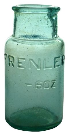 Auction 25 Preview | 804 | Frenler Glass Jar Poison