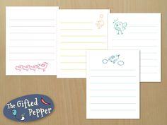 Cute note cards