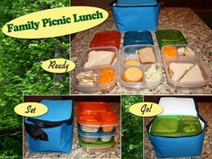 family picnic lunches