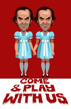 """""""Come Play With Us"""" Variant by Christian Garland"""