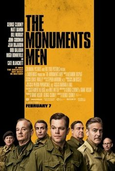 The Monuments Men (2014) movie #poster, #tshirt, #mousepad, #movieposters2