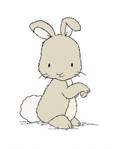 Bunny Nursery Art -- Little Bunny -- Woodland Nursery Art -- Nursery Art Print, Bunny Art, Children Art Print -- Kids Wall Art by SweetMelodyDesigns on Etsy https://www.etsy.com/listing/189830427/bunny-nursery-art-little-bunny-woodland