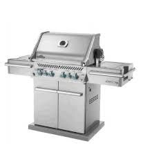 $1,999 NAPOLEON PRO500RSIBPSS STAINLESS STEEL GRILL AND CART WITH SIDE BURNER