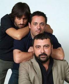 Paco Tous como Paco Miranda, Pepón Nieto como Mariano Moreno y Hugo Silva como Lucas Fernández.